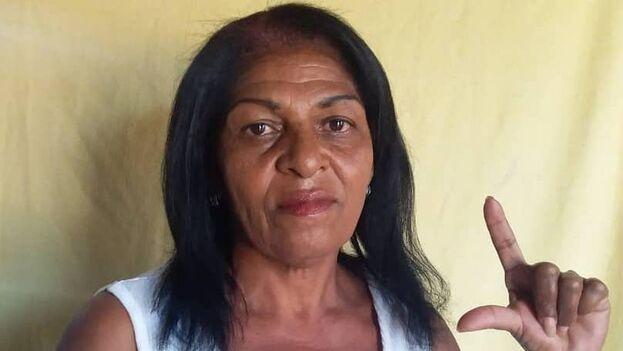 La activista fue incluida en la lista de la organización Cuban Prisoners Defenders como uno de los tantos casos de prisioneros políticos que hay en la Isla. (Cortesía)