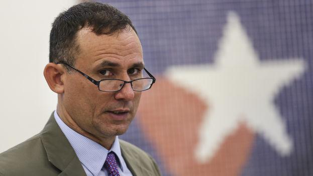 José Daniel Ferrer, exprisionero de la Primavera Negra, ganó con 605 votos la presidencia del Partido del Pueblo. (14ymedio)