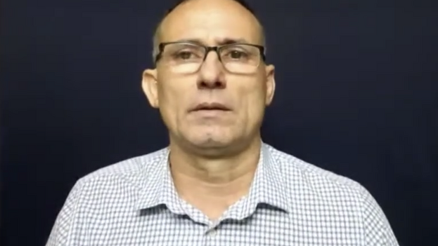 José Daniel Ferrer, líder de la Unpacu, durante el evento 'online' organizado por Cuba Decide. (Captura)