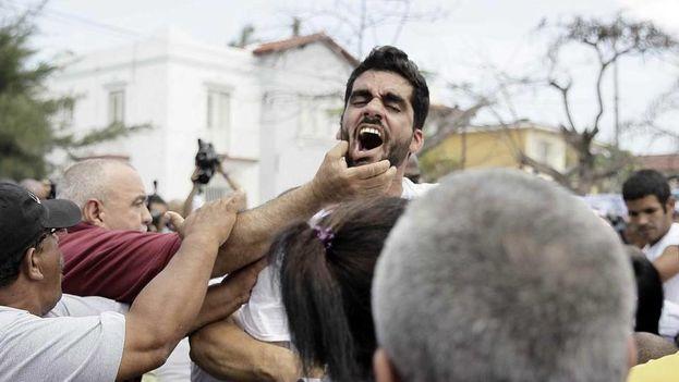 Danilo Maldonado, El Sexto, grafitero disidente arrestado durante una marcha en La Habana. (EFE)