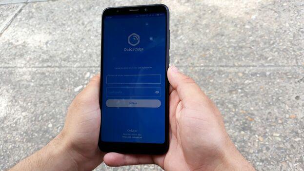 Datos Cuba, para iOS, es una herramienta que permite a los usuarios manejar, de forma personalizada, el consumo de megabytes. (14ymedio)