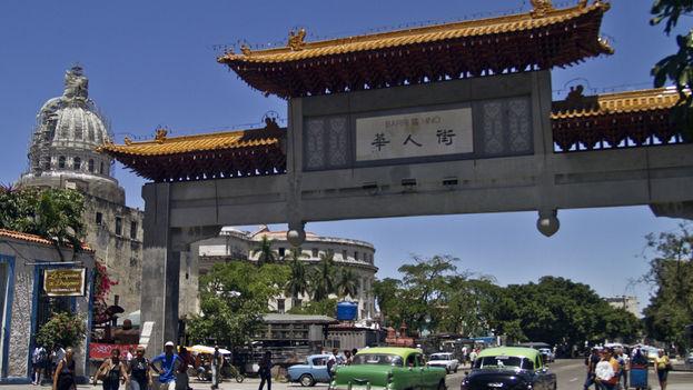 Decadencia en el barrio chino