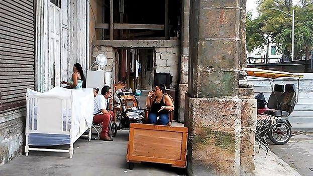 Derrumbe en La Habana. (Mario Hechavarria Driggs)