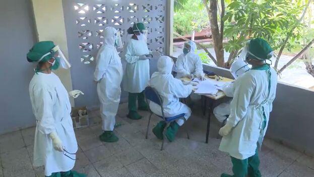 Días atrás, las autoridades sanitarias habían informado de que en la provincia circulaban las variantes del coronavirus Alfa, Beta y Ganma, que habían incrementado los casos graves y críticos. (Captura)