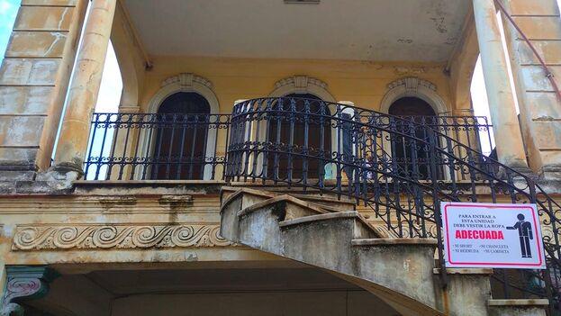 Dirección Municipal de Trabajo y Seguridad Social del Municipio Plaza de la Revolución, calle B entre 23 y 21. (Facebook/Pedro García)