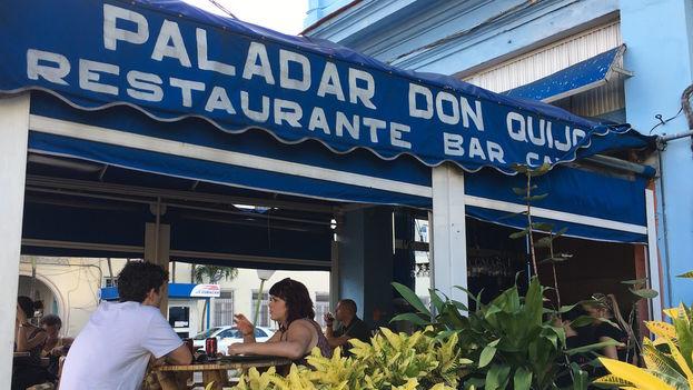 La paladar Don Quijote, en la céntrica calle 23 del Vedado habanero. (14ymedio)