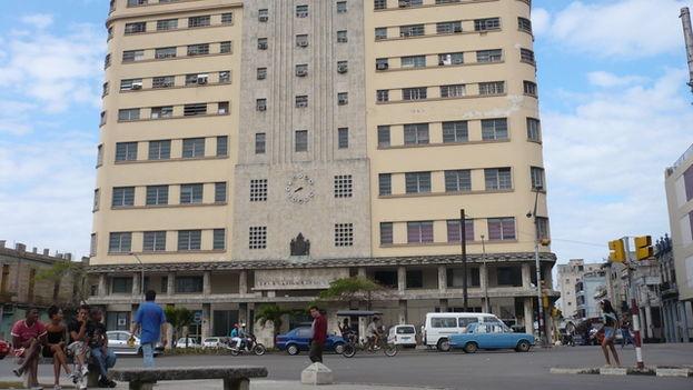 Edificio de la Gran Logia Masónica, sede de la masonería cubana, en la ciudad de La Habana. (Cortesía)