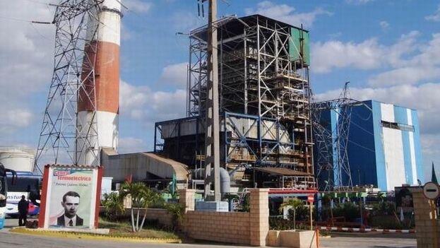 La Unión Eléctrica asegura que trabajos de mantenimiento en la CTE Antonio Guiteras están planificados para 96 horas. (Escambray)