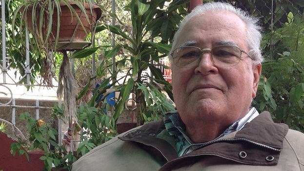 Elizardo Sánchez, presidente del Comité de Derechos Humanos y Reconciliación Nacional. (14ymedio)