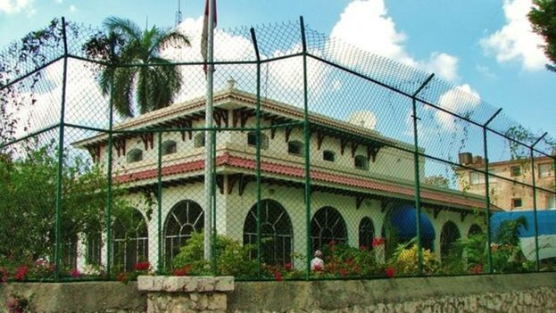Embajada de Canadá en La Habana. (Cortesía)