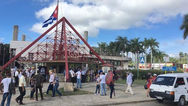 Entrada a la Feria Internacional de La Habana (Fihav) 2016. (14ymedio)