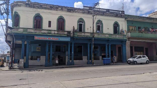 La Esquina de Tejas, uno de los centros comerciales más importantes del municipio Cerro. (14ymedio)