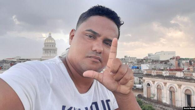 Esteban Rodríguez es reportero independiente y miembro del Movimiento San Isidro. (Facebook)