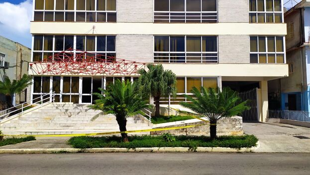 Edificio de los Estudios de Animación del Instituto Cubano del Arte e Industria Cinematográficos en La Habana, donde se encuentran los estudios de Telesur. (14ymedio)