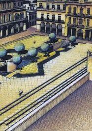 Exposición 'La utopía paralela. Ciudades soñadas en Cuba (1980-1993)'. (Es Baluard Museu)