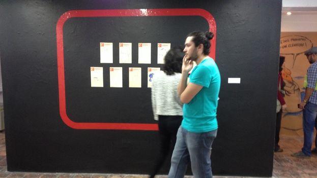Exposición 'Los mundos de Quino' en homenaje al artista argentino, en la Casa de las Américas, La Habana. (14ymedio)