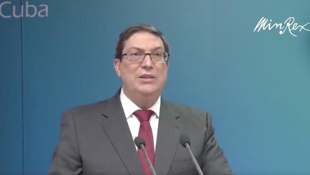 """El ministro de Exteriores explicó en una intervención televisada que durante la reunión transmitió a Tekach su """"más enérgica protesta"""" por el suceso acaecido esta madrugada. (Captura)"""