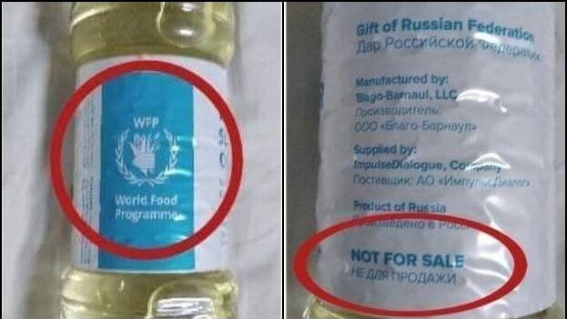 En Facebook, la publicación de las imágenes de las botellas estuvo acompañada de fuertes críticas. (Collage)