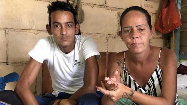 Familia de Jonathan Torres Farrat, uno de los menores detenidos tras las protestas pacíficas del 11 de julio. (Captura)