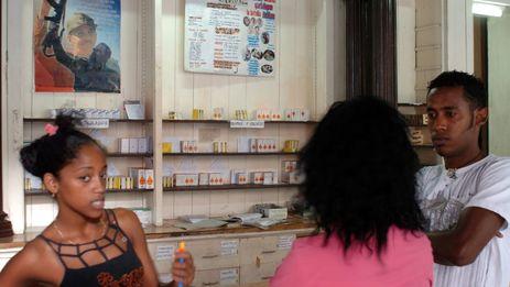 Farmacia en La Habana. (EFE Archivo)