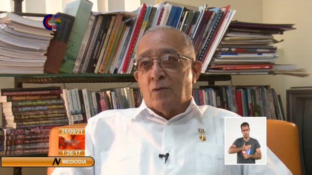 Fernández también estuvo entre los fundadores del Partido Comunista de Cuba. (Captura)