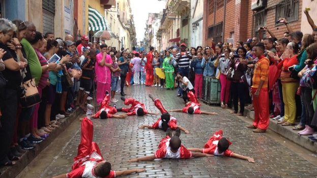 Festividades por el nuevo año lunar en el Barrio Chino de La Habana. (14ymedio)