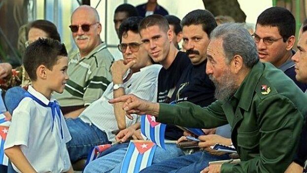 Fidel Castro celebraba los cumpleaños de Elián González. (Archivo)