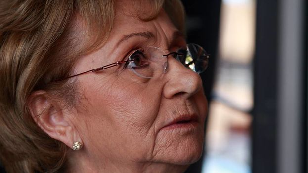 La hermana de Fidel Castro, Juanita. (El Nuevo Herald)