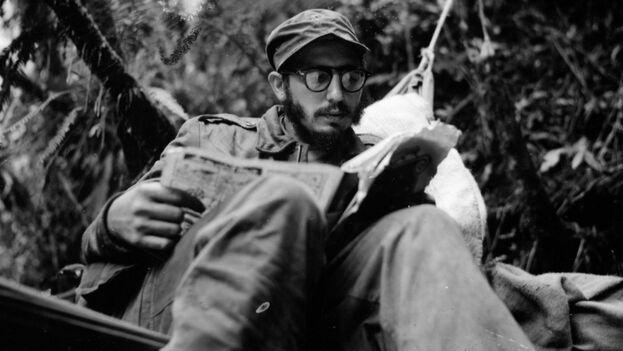 Fidel Castro en la Sierra Maestra. (Archivo)