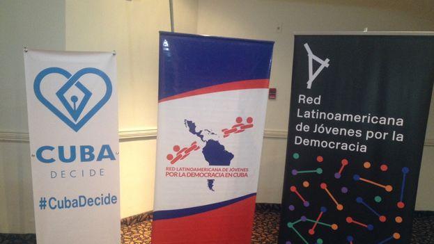La sede del Foro de Movimientos Juveniles en el marco de la Cumbre de las Américas. (14ymedio)