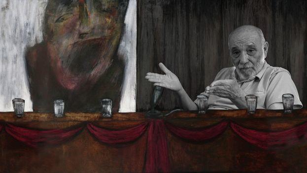 Fotograma del documental 'Nadie' que aborda la figura del poeta y narrador censurado, Rafael Alcides.