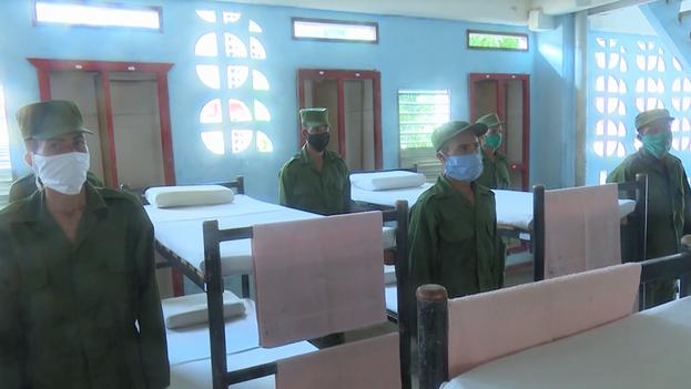 Las Fuerzas Armadas Revolucionarias en Santiago de Cuba han puesto en aislamiento a soldados y unidades militares. (Captura)