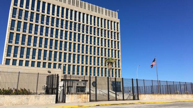 La embajada de EE UU. (14ymedio)
