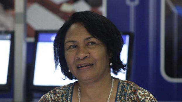 Miriam Nicado García es miembro del Partido Comunista de Cuba y también del Consejo de Estado desde abril de este año. (Cubadebate)