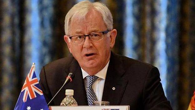 El enviado especial del Gobierno de Australia, Andrew Robb. (EFE)
