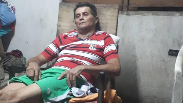 El activista Guillermo del Sol decidió dejar de comer como protesta por las violaciones a la libertad de movimiento. (Cortesía)