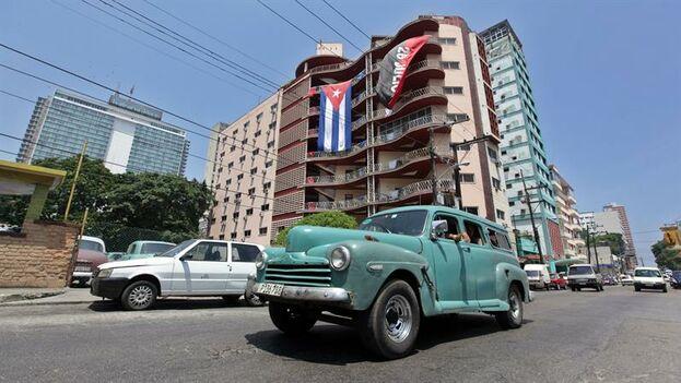 La Habana, un día después del restablecimiento de las relaiciones entre los EE UU y Cuba. Archivo. (EFE)