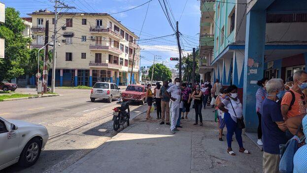 La Habana es la única región de la Isla rezagada en el proceso hacia la nueva normalidad. (14ymedio)