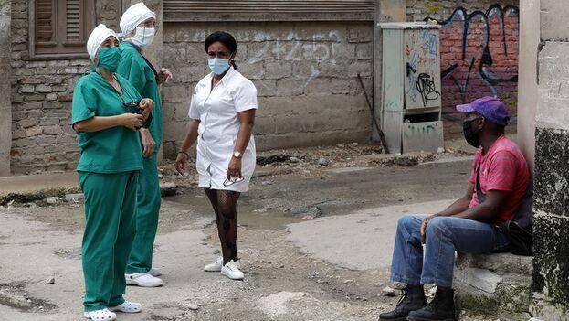 La Habana no reportó contagios locales de covid por cuarto día consecutivo. ( EFE/Ernesto Mastrascusa/Archivo)