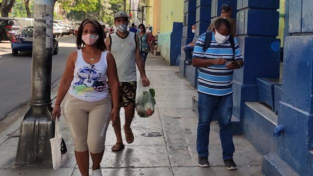 La Habana sigue estando a la cabeza de los contagios diarios, con 558 nuevos casos este martes. (14ymedio)