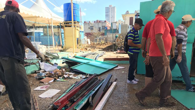 La Habana se recupera de las penetraciones del mar