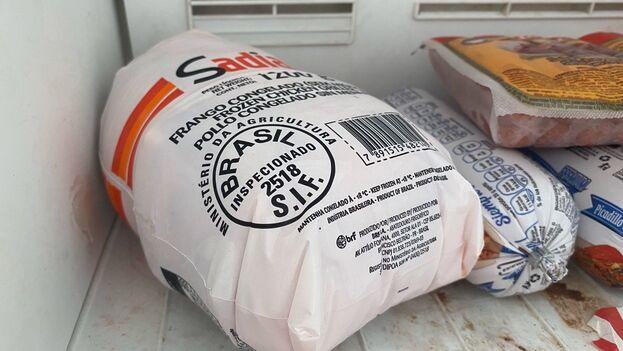 Hacerse con un pollo completo puede llevar horas o hasta días de cola. (14ymedio)