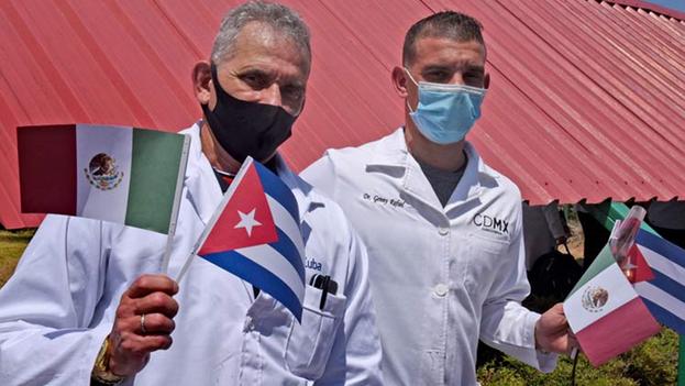 La importación de brigadas Henry Reeve por parte de México ha estado caracterizada por la polémica y la opacidad. (Prensa Latina)