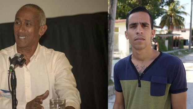 Hildebrando Chaviano y Yuniel López O´Farrill, los dos candidatos opositores nominados