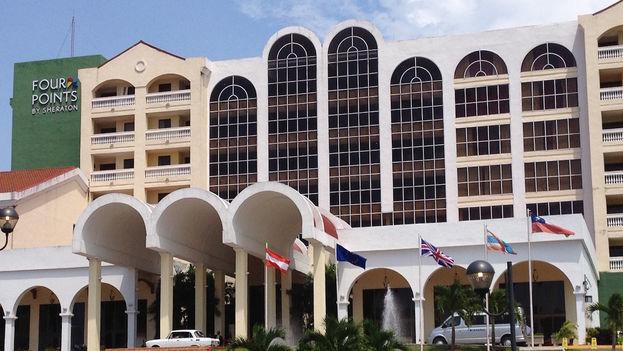 El Hotel Four Point abrió sus puertas en La Habana el pasado junio. (14ymedio)