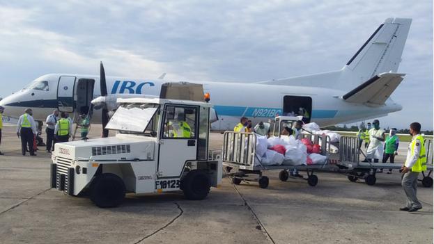 IBC Airways y Skyway Enterprises fueron autorizadas por EE UU el pasado julio para realizar vuelos a Cuba. (Aduana de Cuba/Facebook)