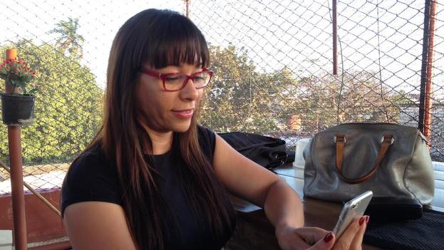Iliana Hernández. (Luz Escobar)