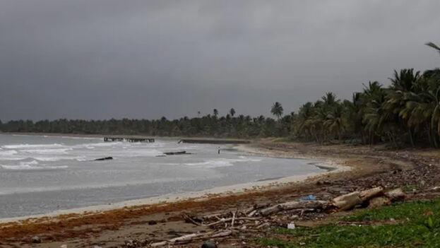 Imagen de una playa de Toa Baja, en Puerto Rico. (EFE)
