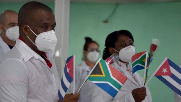 El grupo estaba compuesto por 18 especialistas en Medicina General Integral, tres licenciados en Electromedicina, cinco en Gestión de la Información y otros cinco en Higiene y Epidemiología. (Ministerio de Salud Pública)