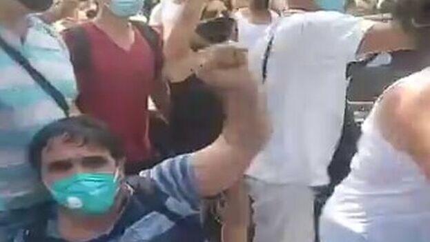 La familia de Inti Soto Romero no fue informada previamente del traslado, que ocurrió el pasado viernes. (Captura)